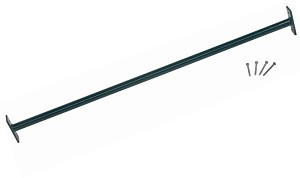 Horizontal bar 125cm green