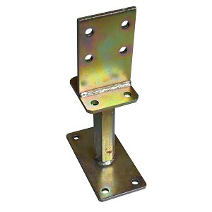 Height-adjustable post base type S