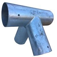 Schaukelverbinder für Rundholz Ø 120/100 mm