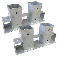 2er Set Stapelhilfe für Brennholz