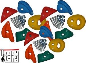 Klettersteine-Set 15 Stück Größe M