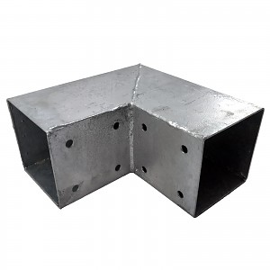Wooden connector square 2-way 70x70cm