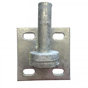 Impact hook piston, 215mm, Ø 19mm, galvanized