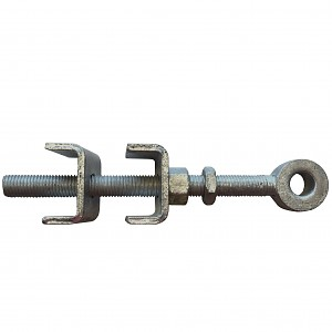 Adjustable eyebolt Ø 19mm, galvanized shutter hinge