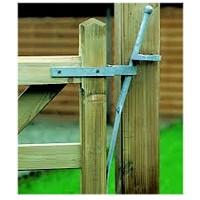 gate bolts, galvanized
