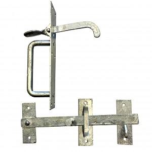 Automatischer Torschluss Stahlverschluss Torriegel Tortreibriegel