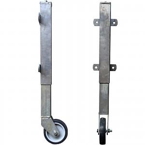 Gate support wheel Gate support wheel Support roller Telescopic roller Gate roller galvanized