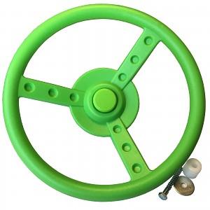 Steering wheel - apple green