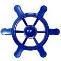 Pirate steering wheel blue