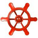 Pirate steering wheel red