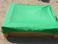 Sandpit cover 1.75 to 1.95 m
