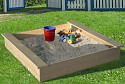 Sandpit with cover 180x180cm