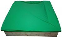Sandkasten mit Abdeckhaube 120x120cm