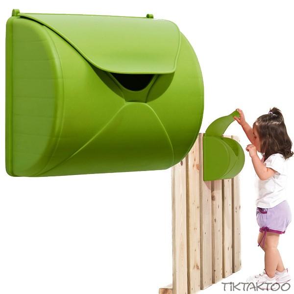 TikTakToo Kinder Briefkasten f/ür Spielturm oder Spielhaus