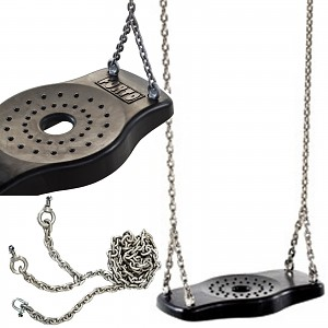 Rubber Swing Seat with Stainless Steel Chain 2.50 m