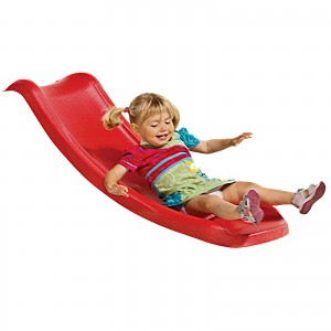 Toddler slide Baby slide 1.17m red play tower