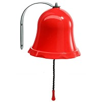 Ship bell Bell for play tower or playhouse red