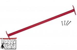 Horizontal bar 90cm red gymnastics bar, horizontal bar, metal bar