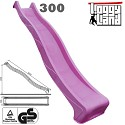 Wave Slide 3m with water connection purple