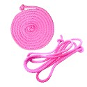 Gymnastics jump rope 2.80m pink