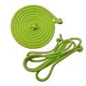 Gymnastics skipping rope 2.80m apple green