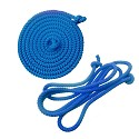 Gymnastics skipping rope 2.80m blue