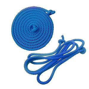 Gymnastics skipping rope 2.80m blue