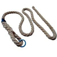 Climbing rope Profi series made of jute 3 m long