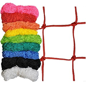 Decorative net 1m x 5m colored, mesh size 100 x 100mm PP