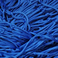 Decorative net 2m x 3m blue mesh size 50 x 50mm PP
