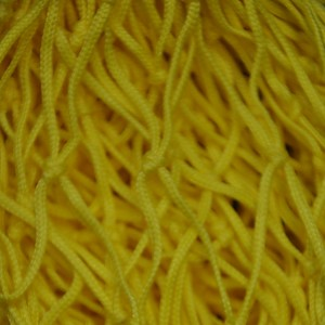 Decorative net 1m x 3m yellow mesh size 50 x 50mm PP