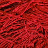 Decorative net 2m x 3m red mesh size 50 x 50mm PP