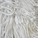 Decorative net 2m x 3m white mesh size 45 x 45mm PP