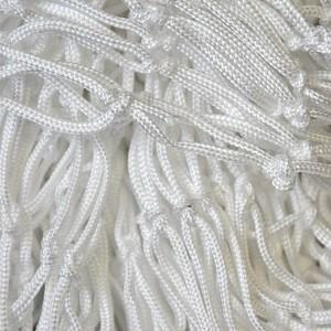Decorative net 2m x 3m white mesh size 45 x 45mm PP