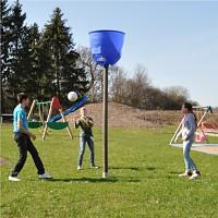 LoggyLand SPACEBALL - Ballfangkorb Ballwufspiel Basketballkorb