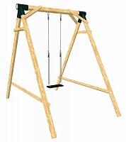LoggyLand playground set SWING Height: 2.10 m