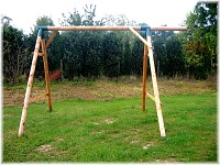 LoggyLand basic structure for the BOUNCE playground set Height: 2.10 m