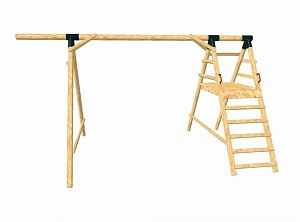 LoggyLand framework for the playground set HAPPY
