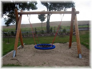 Bird`s Nest Swing Set Ø 100 cm