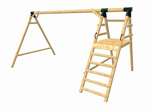 LoggyLand framework for the playground set MAXIMUM