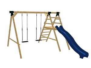 LoggyLand playground set ULTRA Height: 2.60 m