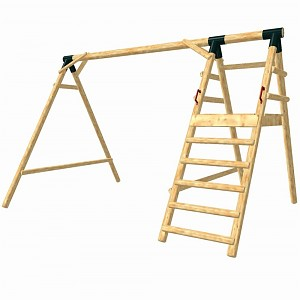 LoggyLand basic frame for the playground set ULTRA