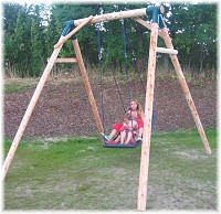 LoggyLand - Schaukel Swing mit Familienschaukel Standard