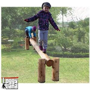 LoggyLand balance beam balancing beam