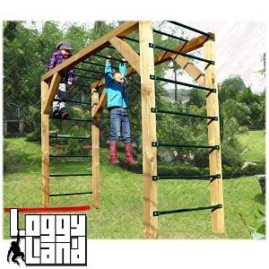 Hanging frame climbing frame monkey swing