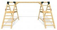 Framework for Playground Set DOUBLE