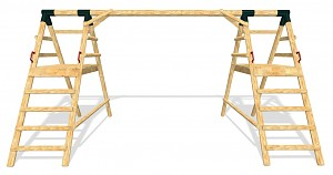 LoggyLand framework for the playground set DOUBLE height: 2.60 m