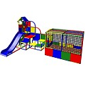 Moveandstic Emma - big Play Tower with Ball Pool and Slide