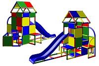 Moveandstic Lisa großer Turm mit Rutsche und kleinen Anbau