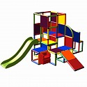 Moveandstic Josefine - Big Climbing Tower with 2 Slides and Step